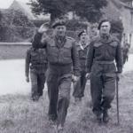 Brigadiers John Durnford-Slater and Derek Mills-Roberts, Le Plein, Amfreville