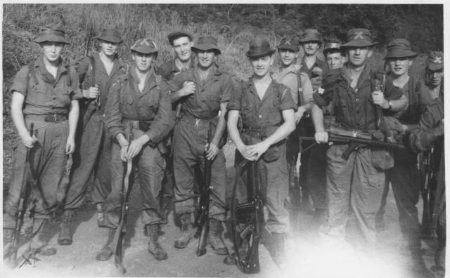 42 Commando RM jungle training with The Foresters, Malaya c.1958/9
