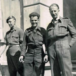 Ron Griffiths on guard, and 2 others