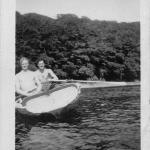 Sgt. William Noakes MM and another in Malente 1945