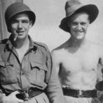 Pte McKeogh and Cpl Young
