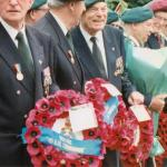 Events of the 6/7th June 1997 including unveiling of the 45RM Cdo Memorial at Franceville-Merville Plage