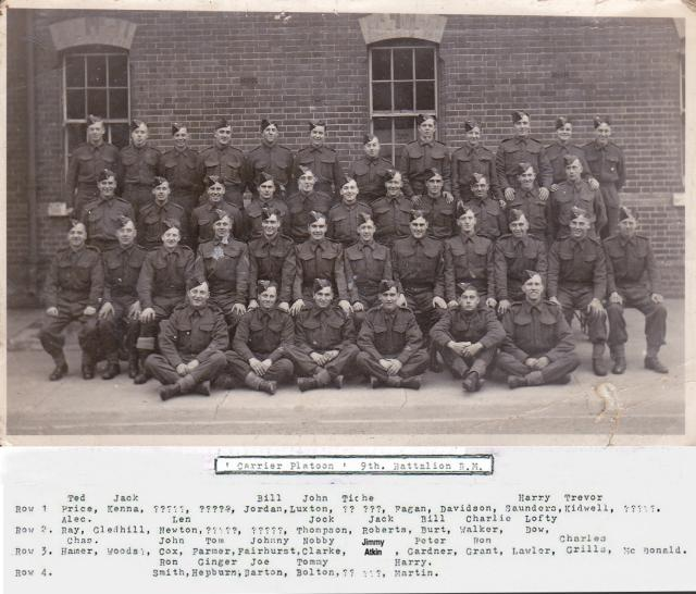 9th Bn RM with many who later served in 46RM Commando