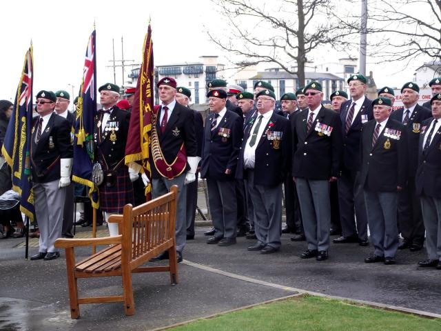 Service for Cpl Hunter VC (10)