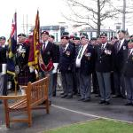 Service for Cpl Hunter VC (18)