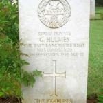 Private George Hulmes