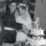 Ernie Eves marries June Treagus