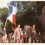William Jones No.4 Cdo and other Veterans march in France  c.1970's