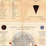 Walcheren Memorial Leaflet