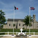1st Commando Brigade Memorial, Amfreville,  4th June 2013 (a)