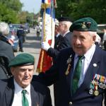Leon Gautier (10IA Cdo French troop) and Bert Beddows (3 Cdo)