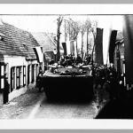 Buffalo of 48 Commando RM entering Serooskerke, after Walcheren raid, 8 Nov 1944.