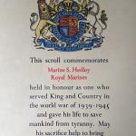 ROH Scroll for Mne. Stanley Hedley