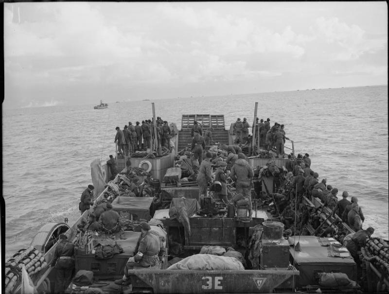 Landing by Royal Marine Commandos on the island of Walcheren