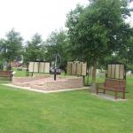 The CVA Memorial and Army Commando Memorial Wall