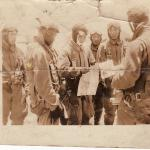 Photo found after the battle of Hill 170.