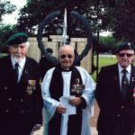 Three Veterans of No.2 Commando at the 2013 CVA Summer Service