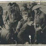 Tpr Richard Pickover and others after Vaagso raid