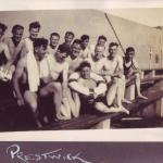 Some of F Troop at Prestwick (outdoor swimming)