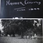 Le Hauger Cemetery June 1944