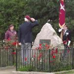 Cromwell Lock Memorial Services, Newark, 2010