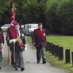 131 Parachute & Commando Engineers. Cromwell Lock Memorial 2012