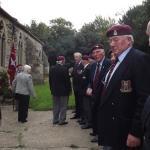 131 Parachute & Commando Engineers. Cromwell Lock Memorial 2012 (3)