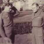 Capt. P.C Beckett and Lt.Col. RWP Dawson, DSO., Dec.1945