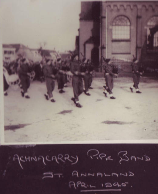 Commando Depot/CBTC Pipes and Drums. St Annaland, April45