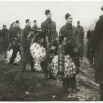 Funeral cortege (c) at or near Stalag V111b
