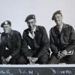 Lt. Alastair Thorburn; Capt. Len Coulson, Capt.Donald Gilchrist, 1943, Falmouth
