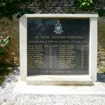 Memorial to 46RM Commando at Rots and Le Hamel