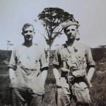 Capt. Geoffrey Rees-Jones, No5 Cdo & CMWTC (on the left) & Sgt.Cross
