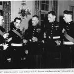 Presidential Unit Citation for 41 Independent Commando RM at the American Embassy 1957
