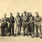 No. 9 Cdos. after landing on Greek mainland, Nr Pireas 14 Oct'44,