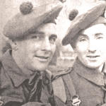 L/Sgt Jim Rennie and Pte. Ben Fryer