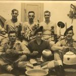 No.9 Cdo Sgts mess  Athens. October '44