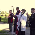 Cromwell Lock Memorial Services, Newark, 2013