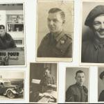An album of photos of Dai L. James & others, 48 RM Commando