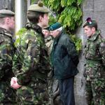 Cadet inspection Achnacarry 9th Nov'13
