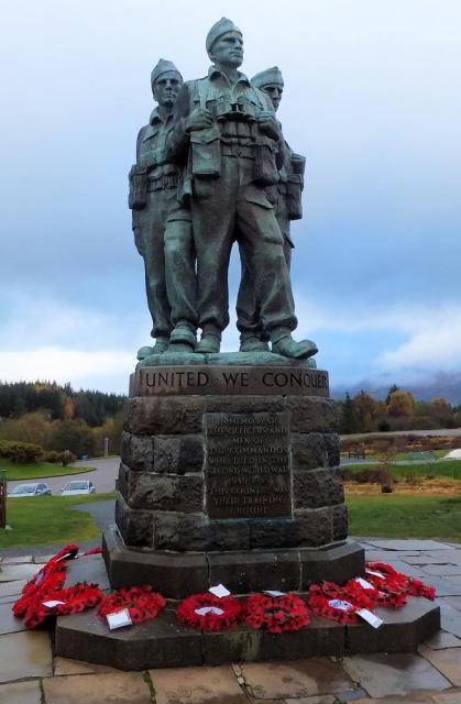 Commando Memorial Monday 11th November 2013