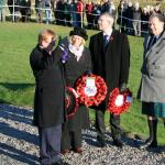 Local MP Charles Kennedy and other wreath bearers