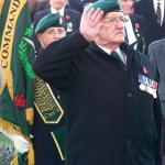 Placing the CVA Wreath at Fort William
