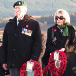 Placing the Wreaths at Spean Bridge