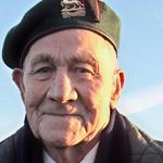 Charlie Spuffard at The Commando Memorial