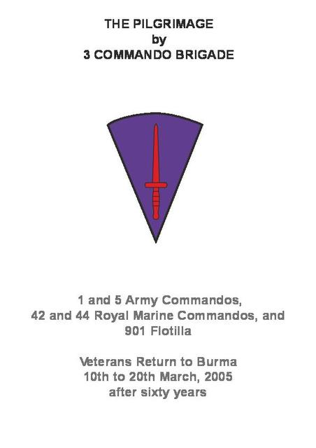 A pictoral account with detail of 3 Cdo Bde veterans return to Burma in 2005