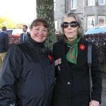 Elaine Rendell and Jennie Barlow