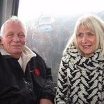 John and Jan White on the gondola