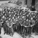 No 3 Commando 1 troop at Limehouse circa May 1944