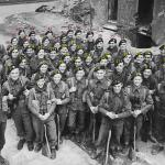 No 3 Commando 1 troop at limehouse 1944 (numbered with names)